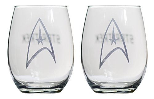 star trek wine glasses